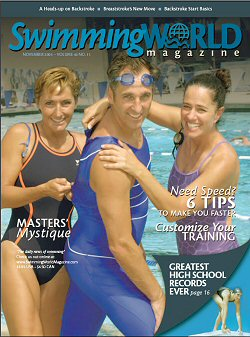 Swimming World Cover November 2005