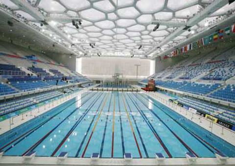 Olympic pools where are they now part five swimming world news for Beijing swimming pool olympics