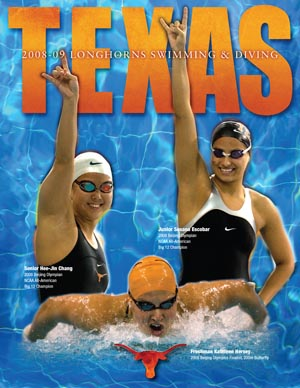 Cover, 2009 Texas Women's Media Guide