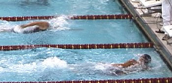 Ryk Neethling hit the wall first in the 200 Free with a US Open Record.