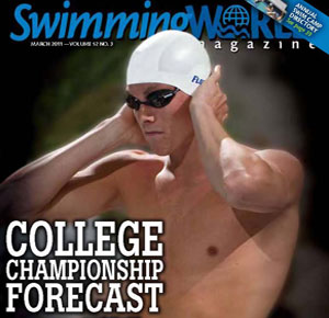 Cover, Swimming World Magazine March 2011