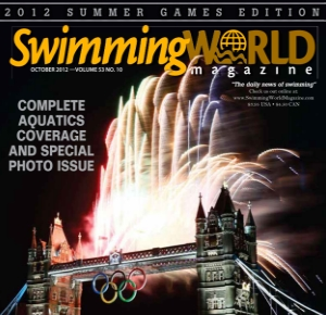 Cover, October 2012 Swimming World Magazine