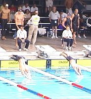 Start of the 50 Free