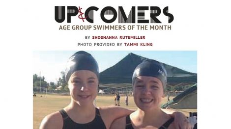 AG swimmers of the month