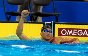 Nathan Adrian at Omaha Swimvitational