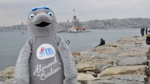 Mascot for the 2012 FINA SC World Championships