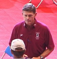 Stanford Coach Richard Quick.