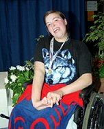 Danielle Watts, World Disabled Swimmer of the Year 2003