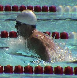 Brendan Hansen swimming breaststroke