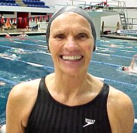 75 year old Backstroke Goddess.