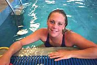 Emma Igelstroma - Sweden's Swimmer of the Year for 2002