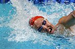 Flavia Rigamonti successfully defending her title in the 500 free