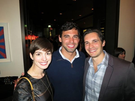how did rebecca soni and ricky berens meet
