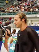 Ian Thorpe talks to the Media
