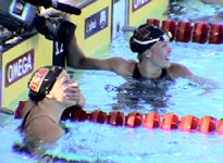 Kalyn Keller is surpised that she qualified for the Olympics in the 400 Free at the 2004 Olympic Trials