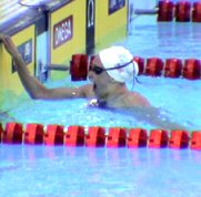 Katie Hoff surprised by her American Record at the 2004 Olympic Trials