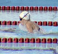 Katie Hoff on the Breast leg of the 400 IM at the 2004 Olympic Trials