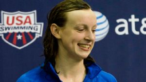 Katie Ledecky at 2012 winter nationals