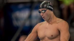 Jason Lezak at the 2012 Olympic Trials