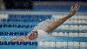 Ryan Lochte at the 2012 Olympic Trials