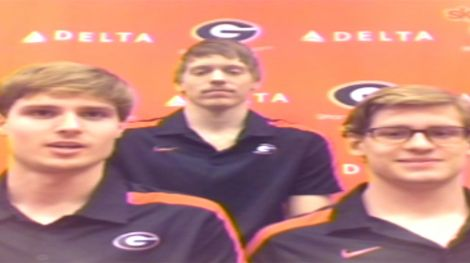 Georgia swimmers discuss Harlem Shake video
