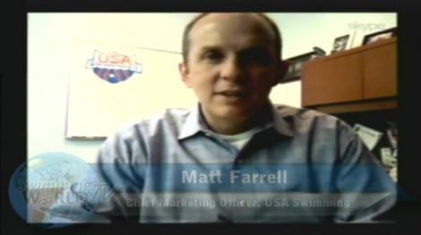 Matt Farrell on the Morning Swim Show