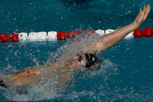 Aaron Peirsol wins 200 backstroke at 2008 Toyota Grand Prix at OSU.