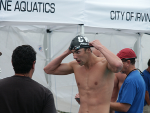Michael Phelps at 2006 Nationals.