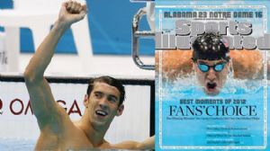 Michael Phelps and Sports Illustrated Cover