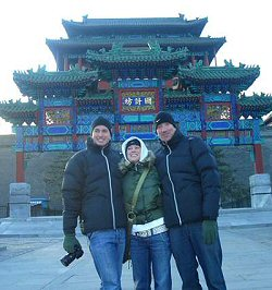 Aaron in China - December 2005 #26