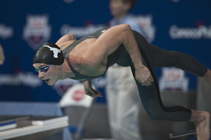 Eric Shanteau set a new American record in the 200 breaststroke at the 2009 USA Swimming Nationals/World Team Trials.