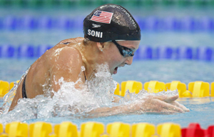 Rebecca Soni Swims to the Gold Medal in the 200 Breast at the Beijing Olympics