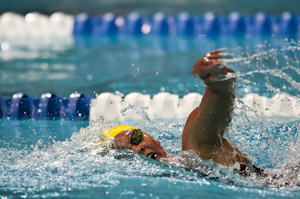 Chloe Sutton won the 800 freestyle at the 2009 USA Swimming Nationals/World Team Trials.