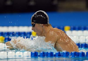 Darian Townsend at Omaha Swimvitational