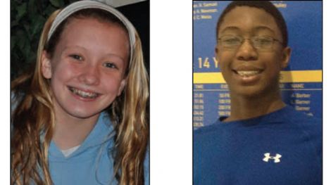 Allie Szekeley and Reece Whitley