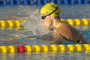 Leisel Jones wins 200 Breastroke at 2005 worlds.