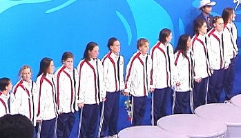 USA women took home the silver in the first Olympic womens water polo final.