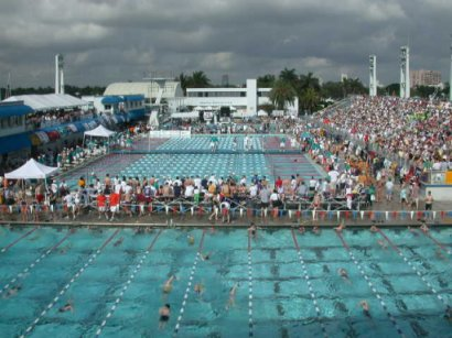 Over 1,200 athletes and as many spectators were at the YMCA Annual Short Course Swimming & Diving Chapionships at ISHOF Aquatic Complex in Fort Lauderdale,Florida.