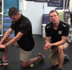 Dryland Tip Improve Ankle Flexibility