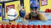 Elizabeth Beisel High Five