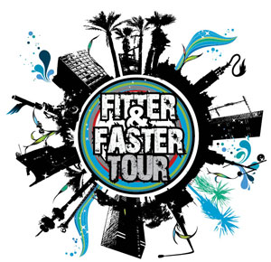 Logo, Fitter and Faster Tour