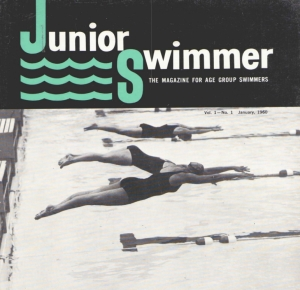 Cover, January 1960 Swimming World
