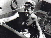 President John F Kennedy on Boat
