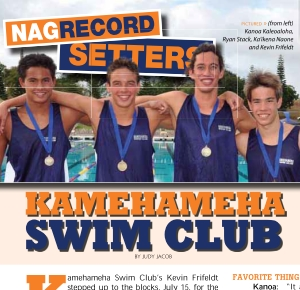 Kamehameha Swim Club NAG Feature