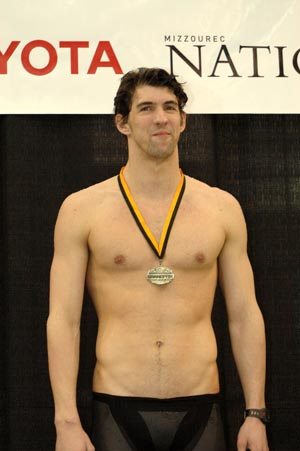Michael Phelps at 2008 Missouri Grand Prix