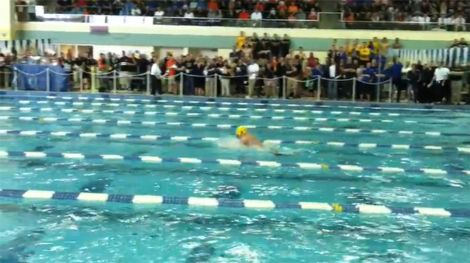 Saline High School relay