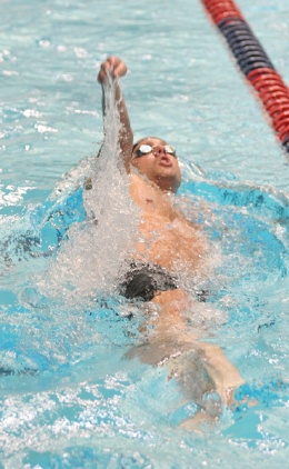 Trent Staley at Speedo West Sectionals