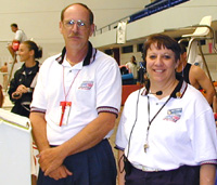 Meet officials did a great job of running a smooth meet.