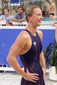 Interview winner of 200IM and 100 breast Aussie Oly Trials