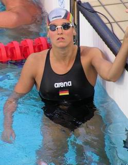Buschschulte in pool pre olympics